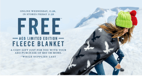 American Eagle Outfitters black friday ad scan - page 2