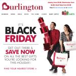 Burlington Coat Factory black friday ad scan - page 1