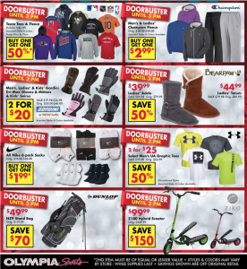 olympia sports black friday ad scan - page 2