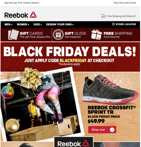 reebok black friday ad scan - page 1