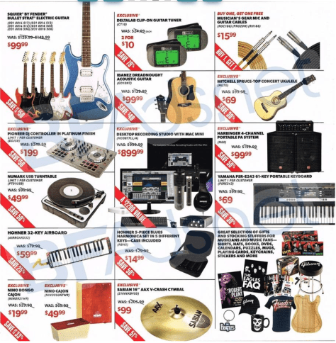 guitar center black friday ad scan - page 3