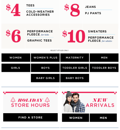 old navy black friday ad scan - page 2