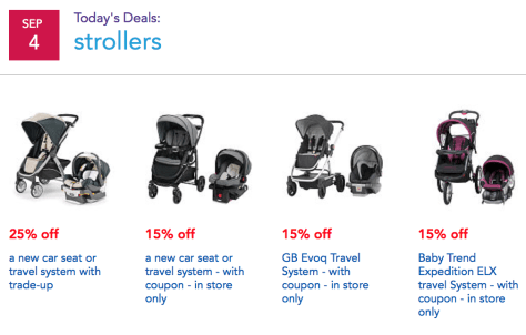 Babies R Us Labor Day Sale 2015 - Page 4