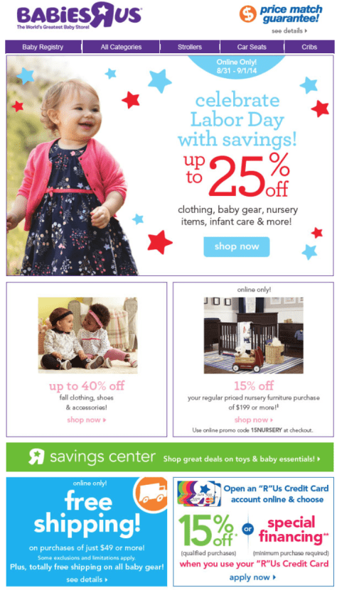 Babies r us Labor Day Sale - Page 3