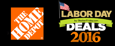 Home Depot Labor Day Sale 2016