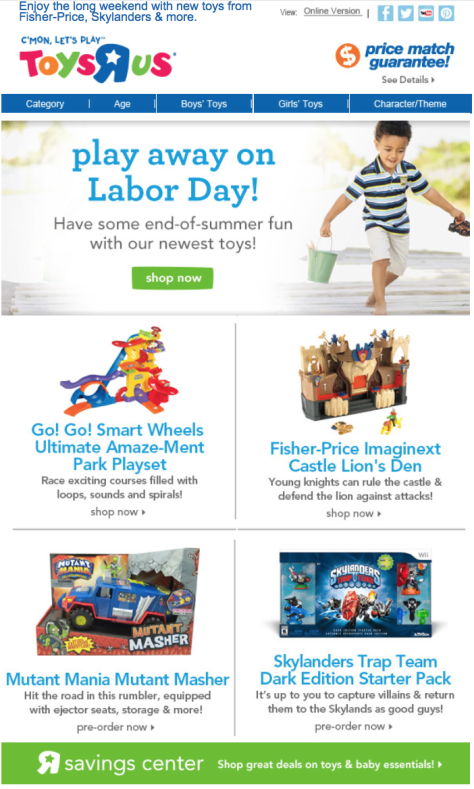 Toys R Us Labor Day Sale - Page 3