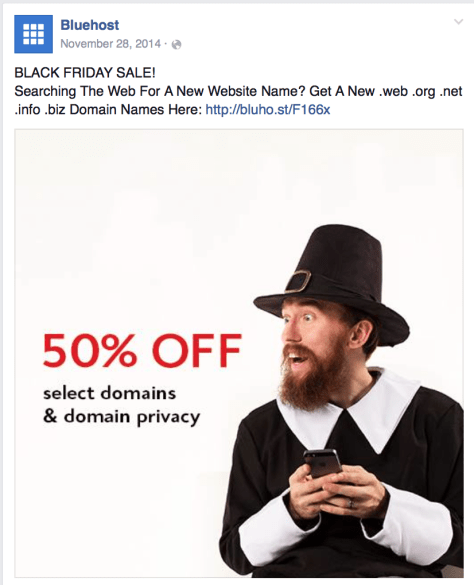 Blue Host Black Friday Ad - Page 1