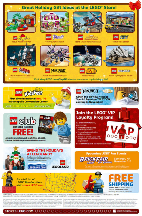Lego Black Friday Ad - Page 1