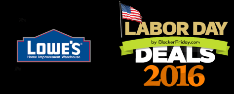 Lowes Labor Day Sale 2016