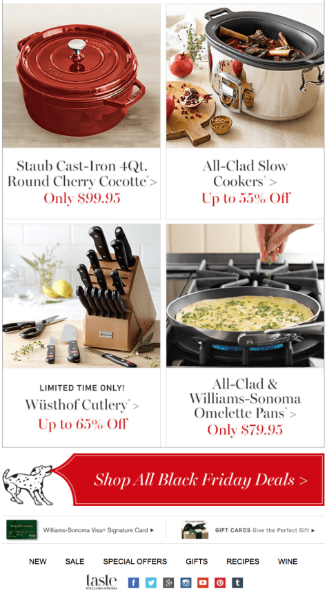 Williams Sonoma Black Friday Ad - Page 6