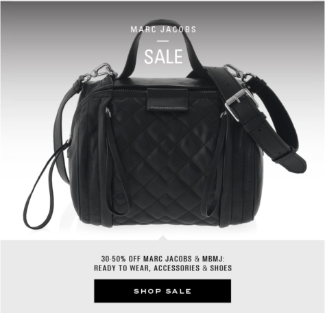 Marc Jacobs Black Friday Ad Scan - Page 3