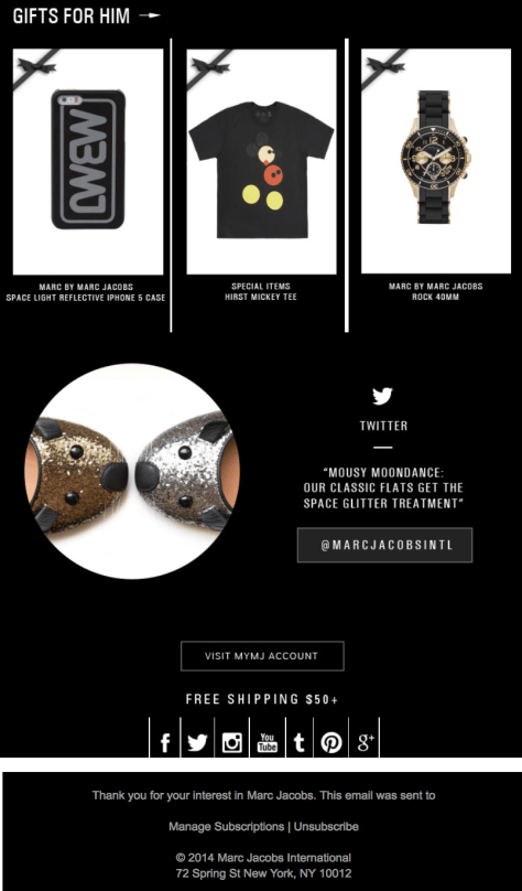 Marc Jacobs Cyber Monday Ad - Page 3