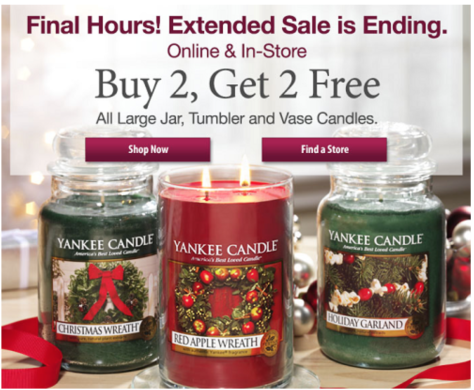 Yankee Candle Cyber Monday Ad - Page 1