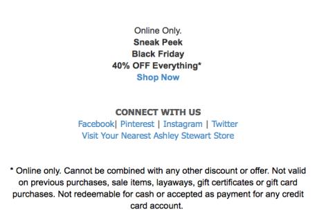 Ashley Stewart Black Friday Ad - Page 2