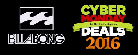 Billabong Cyber Monday 2016