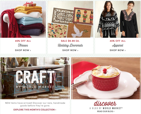 Cost Plus World Market Black Friday 2015 Flyer - Page 4
