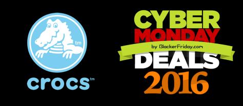 Crocs Cyber Monday 2016