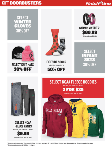 Finish Line Black Friday 2015 Ad - Page 4