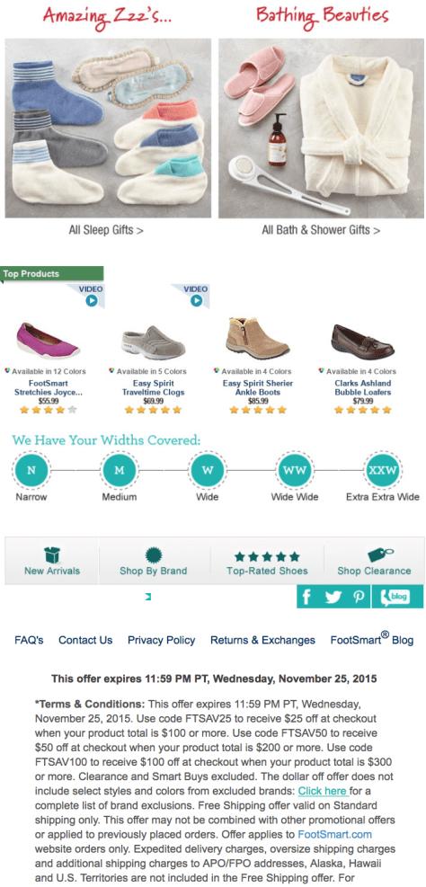 FootSmart Black Friday 2015 Flyer - Page 2