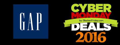 GAP Cyber Monday 2016 Sale