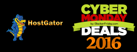 Hostgator Cyber Monday 2016