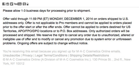 Mac Cosmetics Cyber Monday Ad - Page 2