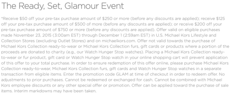 Michael Kors Black Friday 2015 Flyer - Page 2