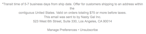 Nasty Gal Cyber Monday Ad - Page 4
