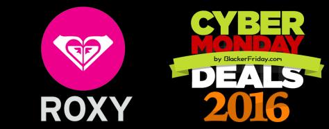 Roxy Cyber Monday 2016