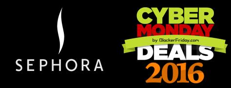 Sephora Cyber Monday 2016