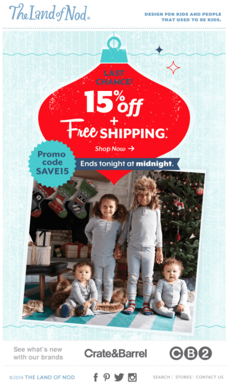 The Land of Nod Cyber Monday Ad - Page 1