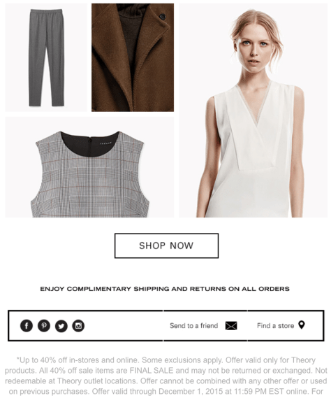 Theory Black Friday 2015 Ad - Page 2