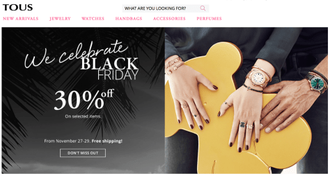 Tous Black Friday 2015 Ad - Page 1