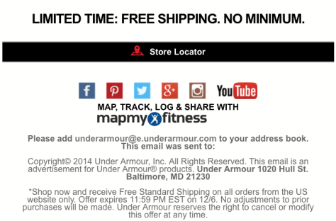 Under Armour Cyber Monday 2015 Ad - Page 2