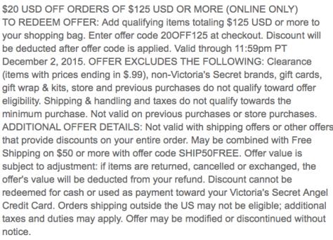 Victorias Secret Black Friday 2015 Ad - Page 6