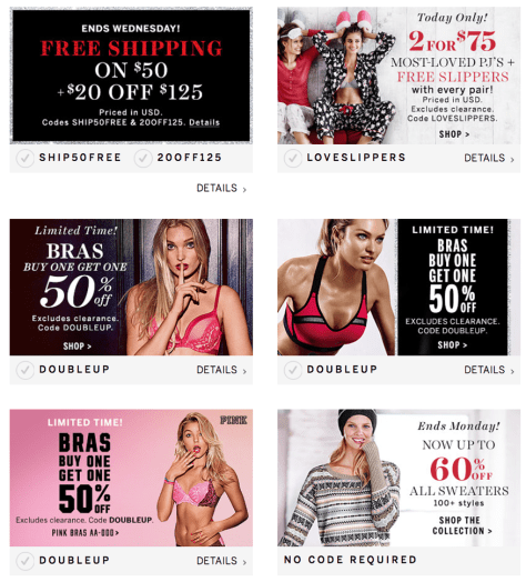 Victorias Secret Cyber Monday 2015 Ad - Page 4