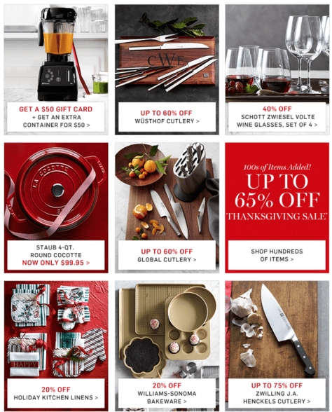 Williams Sonoma Black Friday 2015 Flyer - Page 2