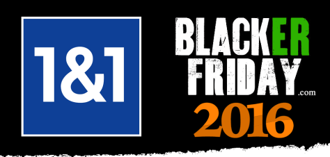 1and1 Black Friday 2016