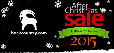 Backcountry After Christmas Sale 2015
