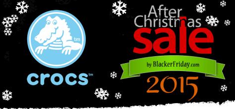 Crocs After Christmas Sale 2015