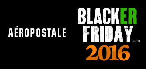 Aeropostale Black Friday 2016