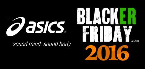 Asics Black Friday 2016