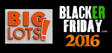 Big Lots Black Friday 2016