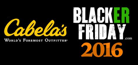 Cabelas Black Friday 2016