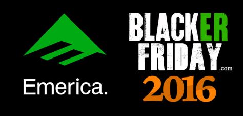Emerica Black Friday 2016