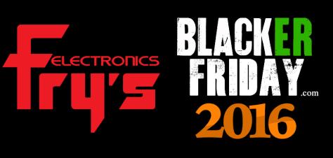 Frys Electronics Black Friday 2016