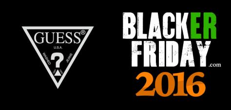 Guess Black Friday 2016