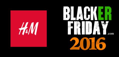 HM Black Friday 2016