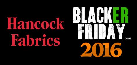 Hancock Fabrics Black Friday 2016
