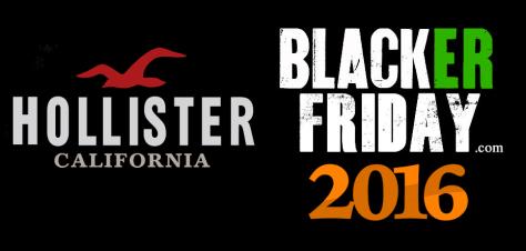 Hollister Co Black Friday 2016